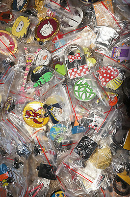 Disney Trading Pins Pin Lot of 75 No Duplicates No Doubles Fast Free Shipping!