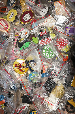 Disney World Land Trading Pins Pin Lot of 100 No Doubles Free Priority Ship