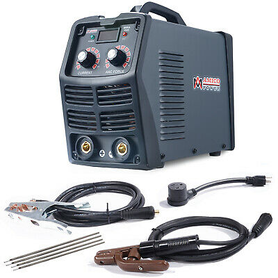 MMA-200, 200 Amp Stick Arc DC Welder, 110V/220V Digital Inverter IGBT Welding