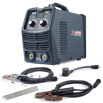 MMA-160 Amp Stick Arc DC Inverter Welder, 115V & 230V Digital IGBT Welding New