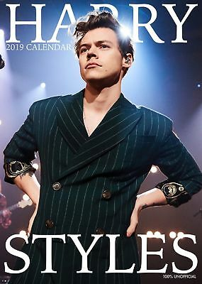 2019 Harry Styles A3 Calendar Wall Calender New Factory Sealed Perfect Gift