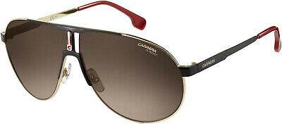9c5f480addf New Authentic CARRERA 1005 S 02M2 HA Black Gold brown Gradient Lens