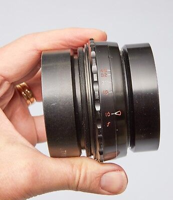 """Kenro Ilex Wide Angle Paragon S/n """" F/4.5 To F/10 Lens  Ring Mount"""