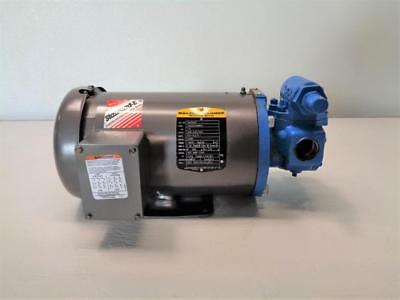 "Viking 1"" NPT Rotary Gear Pump GG475 with 1.5 HP Motor"