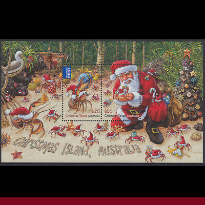SG787MS 2014 Christmas Mini Sheet MUH