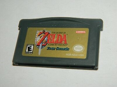 Legend of Zelda: A Link to the Past Four Swords Game Boy Advance GBA