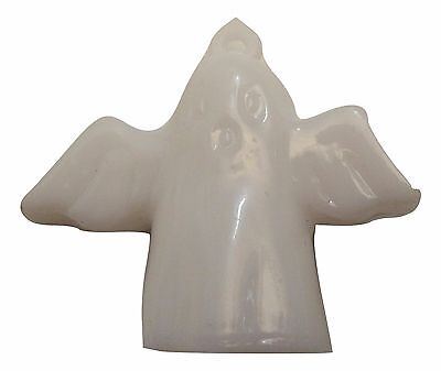 "Ghost Bat Angel HALLOWEEN Miniature dollhouse 1.5"" tree charm vtg ornament NEW"