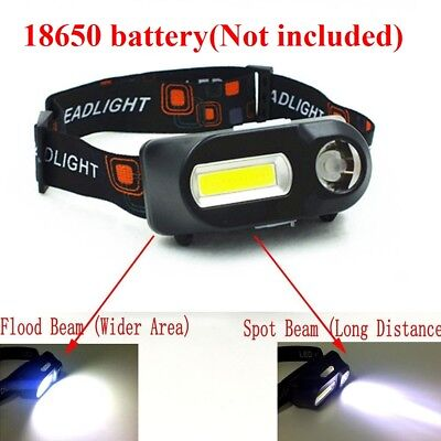 12 COB Led Headlight Fishing Camping Outdoor Riding  Lighting Head Lamp Torch