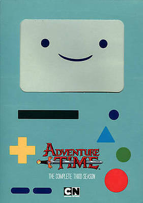 Adventure Time: The Complete Third Season (DVD 2014 2-Disc) Free Ship Canada!