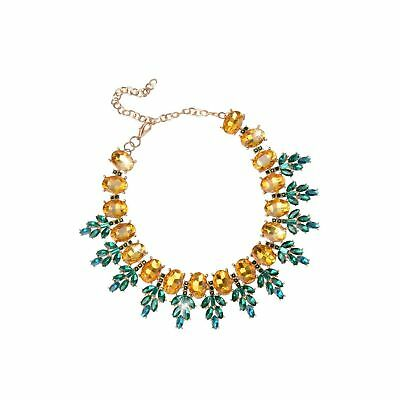 Holylove Pineapple Necklace for Women Statement Jewelry Wedding Party Accesso...