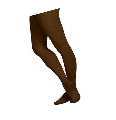 bb8a77904 EMEM Apparel Girls  Solid Colored Ultra Soft Microfiber Opaque Footed Tights