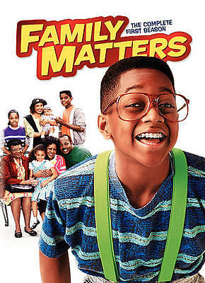 Family Matters The Complete First Season (DVD 2010 3-Disc) NEW! Free Ship Canada
