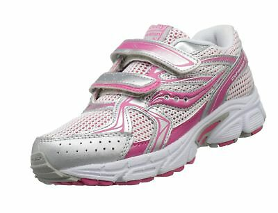 f82bbca9fafc GIRLS COHESION H L Running Shoe Little PINK Silver 13 M US Kid Shoes ...
