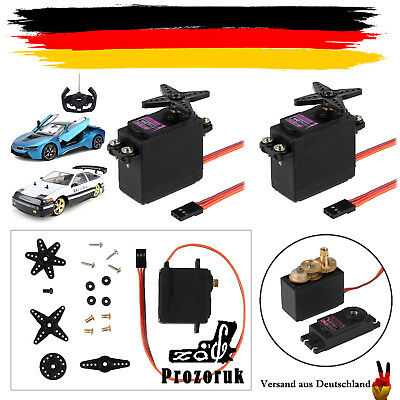 2x Digital Metall Gear RC MG996R Lenk Servo 55g 15Kg fr RC Auto Boot Flugzeug DE