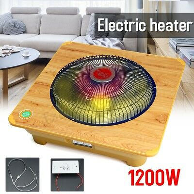 1.2KW Electric Industrial Fan Heater Waterproof Workshop / Garage Space Overheat