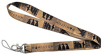 Broadway's Classic Musical Hamilton Themed Cosplay ID Holder LANYARD Keychain