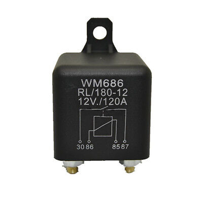 DC 12V 120A Heavy Duty Split Charge ON/OFF Switch Relays Car Automotive Boat 4P