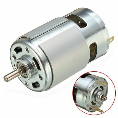 12V 1.2A High Power Large Torque 775/795/895 Motor Ball Bearing Shaft Low Noise