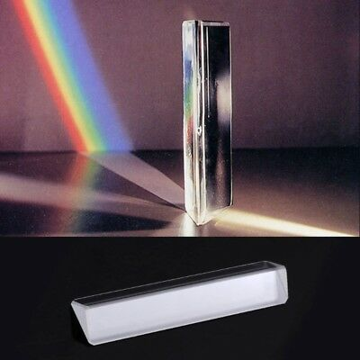 K9 Optical Right Angle Reflecting Triangular Prism For Teaching Light Spectrum