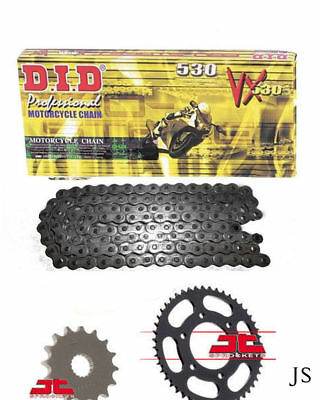 Yamaha FZ1 N,NA 22C,1EC 2006-2014 DID Heavy Duty X-Ring Chain & Sprocket Kit