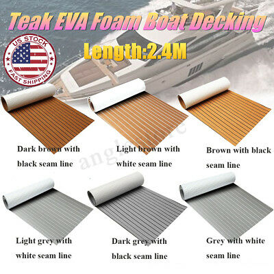 US Boat Flooring Marine Flooring EVA Foam Yacht Teak Decking Sheet Carpet Floor