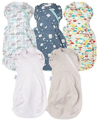Gro-Snug Grobag Swaddle Baby Sleeping Bag 2-in-1 Use for Newborns Cosy & Light