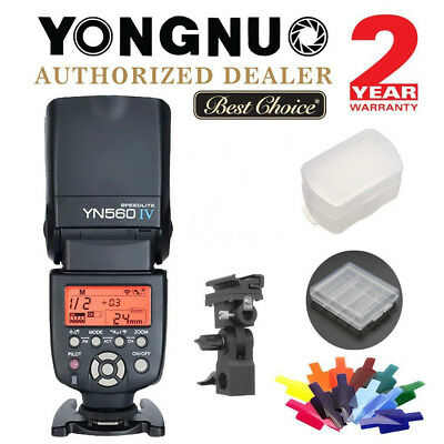 Yongnuo YN560 IV Universal Speedlite Flash Kit for Canon Nikon Sony Pentax US