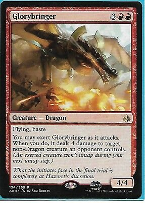 MTG magic 1x Glorybringer (M/NM) Amonkhet