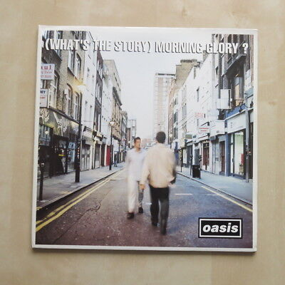 OASIS [What's The Story] Morning Glory? UK 1st press vinyl LP Creation CRELP 189