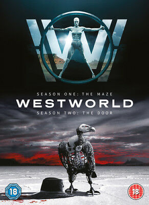 Westworld: Seasons One - The Maze/ Season Two - The Door DVD (2018) Evan Rachel