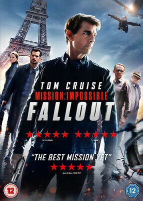 Mission: Impossible - Fallout DVD (2018) Tom Cruise, McQuarrie (DIR) cert 12