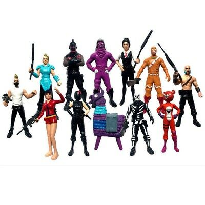 Fortnite Character Toy Game Action Figure Playset Model Gift Collection 12Pc/ a