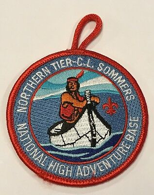 Northern Tier C.L. Sommers High Adventure Base Patch CC10