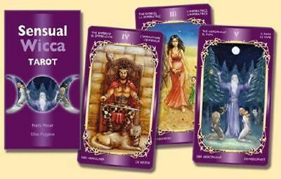 NEW Sensual Wicca Tarot By Not Available  Card or Card Deck Free Shipping