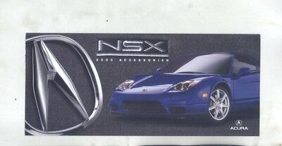 2005 Acura US NSX Accessories Brochure my9194