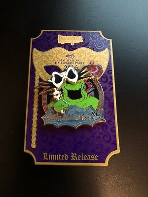 Disney Mickey's Not So Scary Halloween Party 2016 Oogie Boogie Passholder Pin