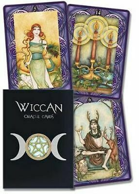 NEW Wicca Oracle By Lunaea Weatherstone Card or Card Deck Free Shipping