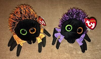 """Teeny Ty - Webster and Creepy - lot of 2 Halloween 2018 5"""" - NWT"""