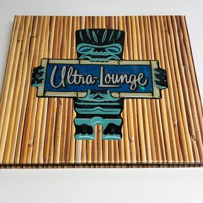 Ultra Lounge CD Tiki Sampler by Various Artists CD 1999 23 Tracks + 2 BONUS Mug