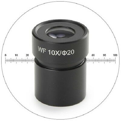Euromex BE.6110 Eyepiece Hwf 10x/20 with Micrometer for BE.1802,BE.1812 &