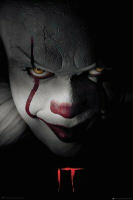 It Pennywise The Clown Stephen King 91.5X61Cm  Poster New Official Merchandise