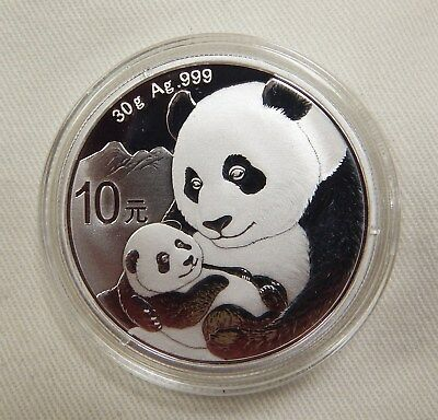 2019 Silver Panda (30g) In Stock For Immediate Delivery!