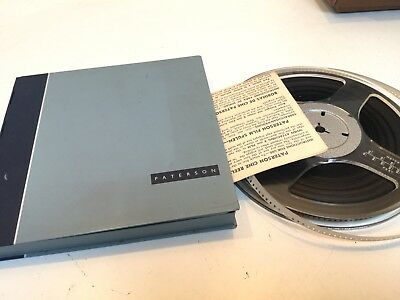 PATERSON 8mm FILM CINE REEL- REEL & CAN INCLUDES FILM