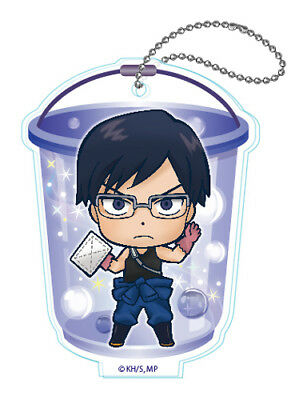 My Hero Academia Tenya Iida Cleaning Acrylic Key Chain