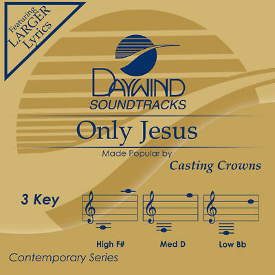 Casting Crowns - Only jesus -  Accompaniment / Performance Track - New