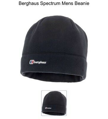 Berghaus Spectrum Beanie Fleece Hat 20063//BP6 Black NEW