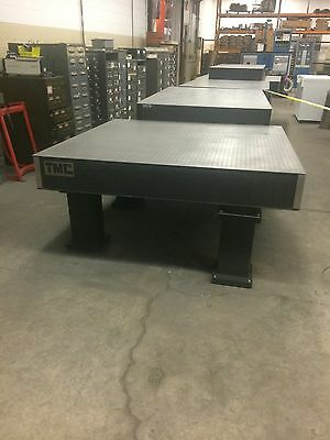 """TMC Vibration isolation Table 60""""X60X32"""", Rubber Mounted Legs, Breadboard Top"""