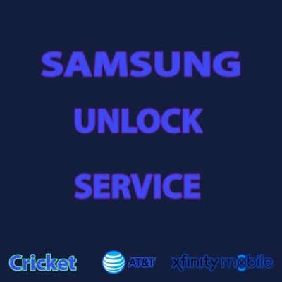 note 10, S10 note 9  S9,s9+ s8.. ATT spectrum xfinity AT&T Unlock code service