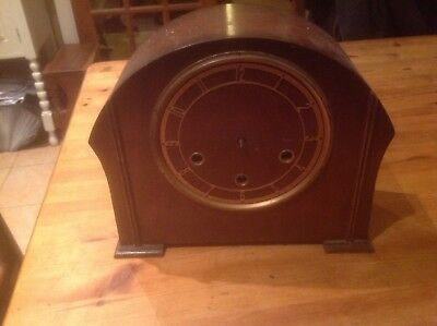 Smiths Westminster Chimes Clock Case And Movement