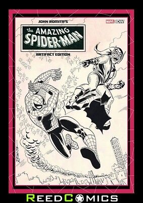 JOHN ROMITA AMAZING SPIDER-MAN ARTIFACT EDITION HARDCOVER Artist Sealed Hardback